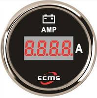 Цифровой амперметр ECMS PEA-BS±150A диаметр 52мм черный 800-00169