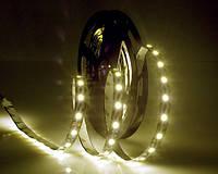 Светодиодная лента LED на черной основе, 12V , SMD5050, 60 д/м, белый теплый, фото 1