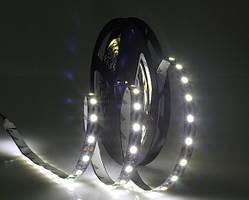 Светодиодная лента LED на черной основе, 12V, SMD5050, 60 д/м, белый холодный