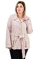 Женская ветровка большого размера, женская верхняя одежда больших размеров, размеры 50- 60