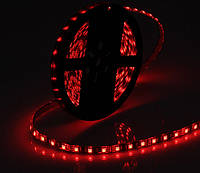 Светодиодная лента LED на черной основе, 12V , SMD5050, 60 д/м, красный, фото 1