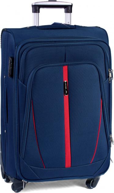 Чемодан сумка Wings 4 колеса набор 3 штуки синий