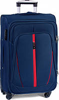 Чемодан сумка Wings 4 колеса набор 3 штуки синий, фото 1