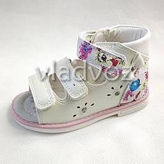 Босоножки сандалии для девочки на девочку девочкам ортопедия 20р. Tom.m белые