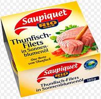 Тунец Rio Mare Saupiquet Thunfisch-Filets in Sonnenblumenöl 185 г
