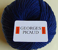 Пряжа шерсть - Bleu Nuit