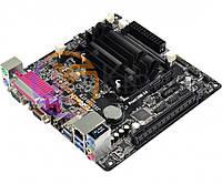 Мат.плата с процессором AsRock J3355B-ITX, Intel Celeron J3355 (2x2.5 GHz), 2xDDR3 SO-DIMM, Intel HD 500, 2xSATA3, 1xPCI-E 16x, ALC887, RTL8111GR,
