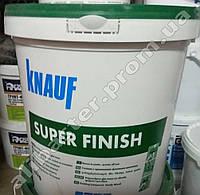 Шпаклёвка SHEETROCK (Шитрок), готовая шпаклёвка Knauf Super finish, ведро 25кг, фото 1