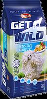Полноценный сухой корм для взрослых собак - FitActive GetWild Sensetive 15kg