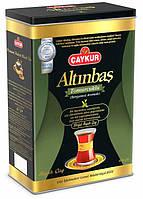 """Турецкий чай чёрный мелколистовой 400 г Caykur """"Altinbas Bergamot"""" (рассыпной)"""