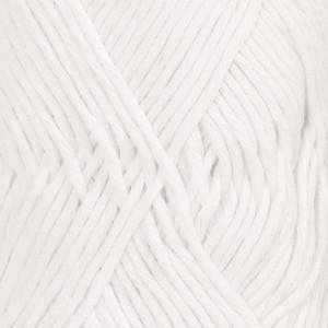Пряжа DROPS Cotton Light, цвет White (02)