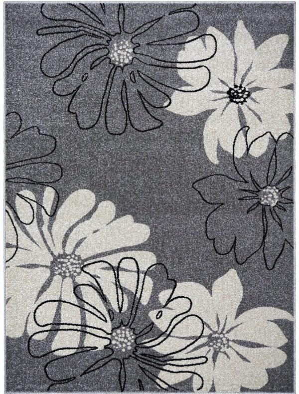 Ковер Optima Bouquet, цвет серый