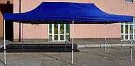 Шатер раздвижной, палатка, беседка, павильон, тент, 3х6(3*6), 43 кг, каркас белого цвета