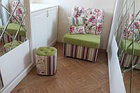 Кресло в прихожую (Ткань цветы), фото 1