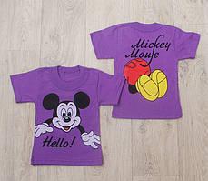 Футболка для девочек Mickey Mouse (разные цвета)
