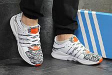 Летние мужские кроссовки Adidas Equipment ADV 91-16,сетка,белые  44р, фото 3
