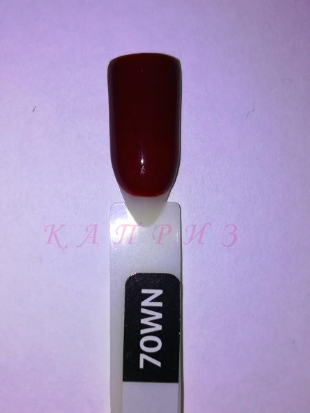 """Гель-лак для ногтей """"Ваsic collection"""" 8 мл, KODI WINE,70 WN  (оттенки винного и бордового цвета)"""
