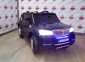 Детский электромобиль BMW S8088, 4 мотора по 45W, 2 аккумулятора,черный