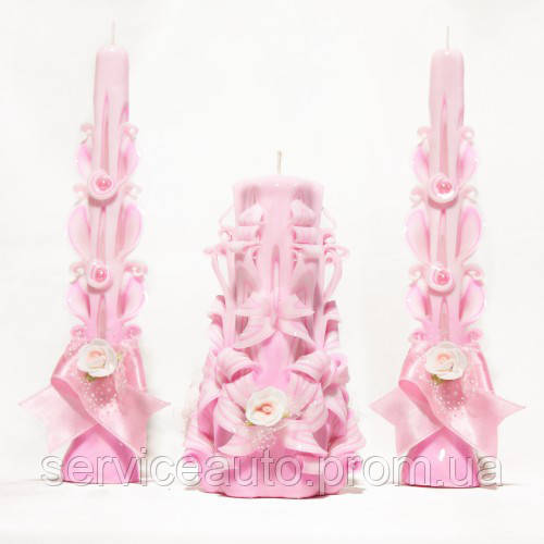 Свадебный набор свечей