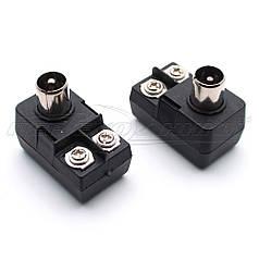 Разъем штекер антенный cимметризатор