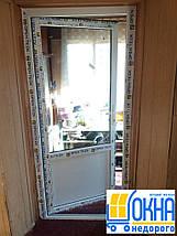 Пластиковая входная дверь 900*2050, фото 3