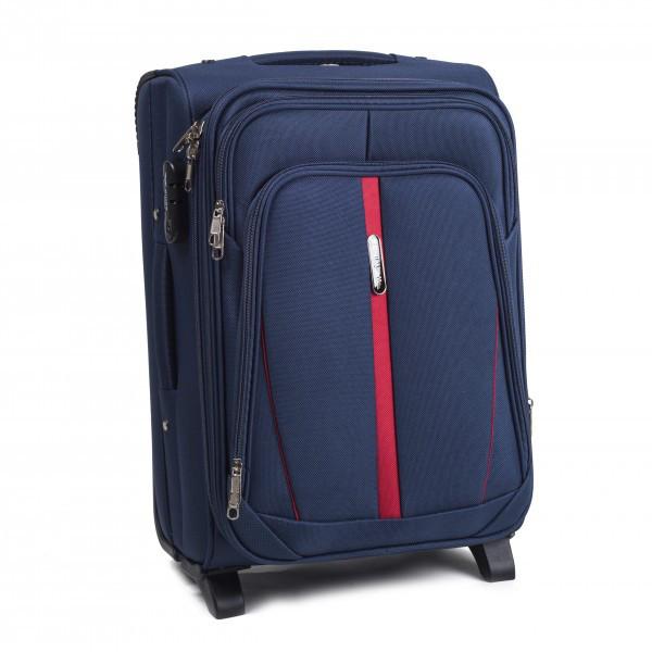 Чемодан сумка Suitcase (небольшой) 2 колеса синий