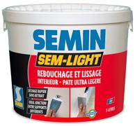 SEM-LIGHT Semin белая шпаклевка эластичная полимерная.