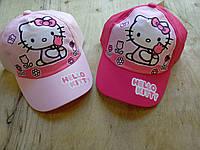 Кепка для девочки Hello Kitty. Размеры:  52,54.