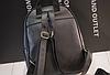 Рюкзак женский стеганый черный, фото 2