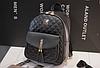 Рюкзак женский стеганый черный, фото 6