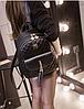 Рюкзак женский стеганый черный, фото 8