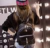 Рюкзак женский стеганый черный, фото 7
