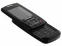 """Телефон Samsung E250i Черный - 2 sim - 2,4"""" - Fm - Bt - Camera - стильный дизайн, фото 1"""