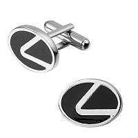 Запонки Лексус Lexus машина логотип  для владельцев, ценителей и любителей автомобилей данной марки , фото 1