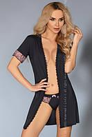 Сексуальный халат Dina LC Livia Corsetti Fashion со стрингами S/M L/XL