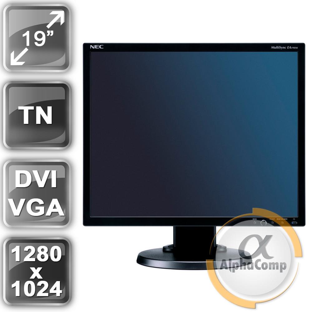 """Монітор 19"""" Nec EA190M (TN/5:4/VGA/DVI/колонки) class B БУ"""