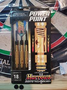 Дротики электроника Power Point gold Harrows 18 грамм