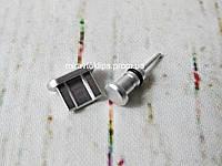 Комплект заглушек в разъем для наушников 3,5 мм и micro USB для смартфона Android, silver, серебро