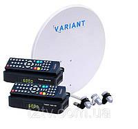 Комплект спутникового ТВ «Популярный» HD Стандарт-2