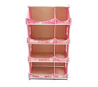 Кукольный домик-шкаф Hega с росписью мраморный (090B1), фото 1