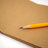 Порезка крафт бумаги по формату А2