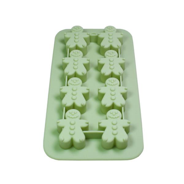 Форма для шоколада и льда Fissman Человечки 8 ячеек 20 х 11 см (6578)