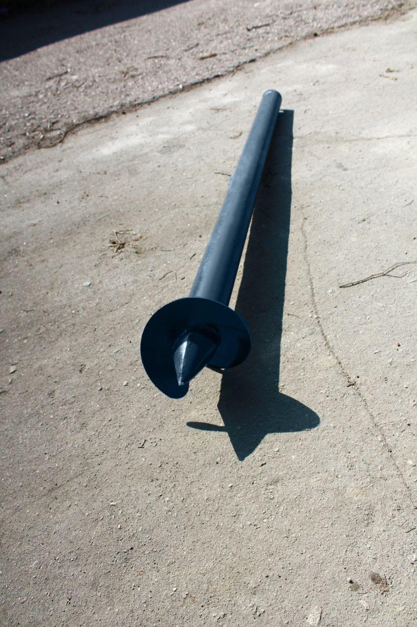 Свая Винтовая одновитковая 102 мм длина 6000 мм