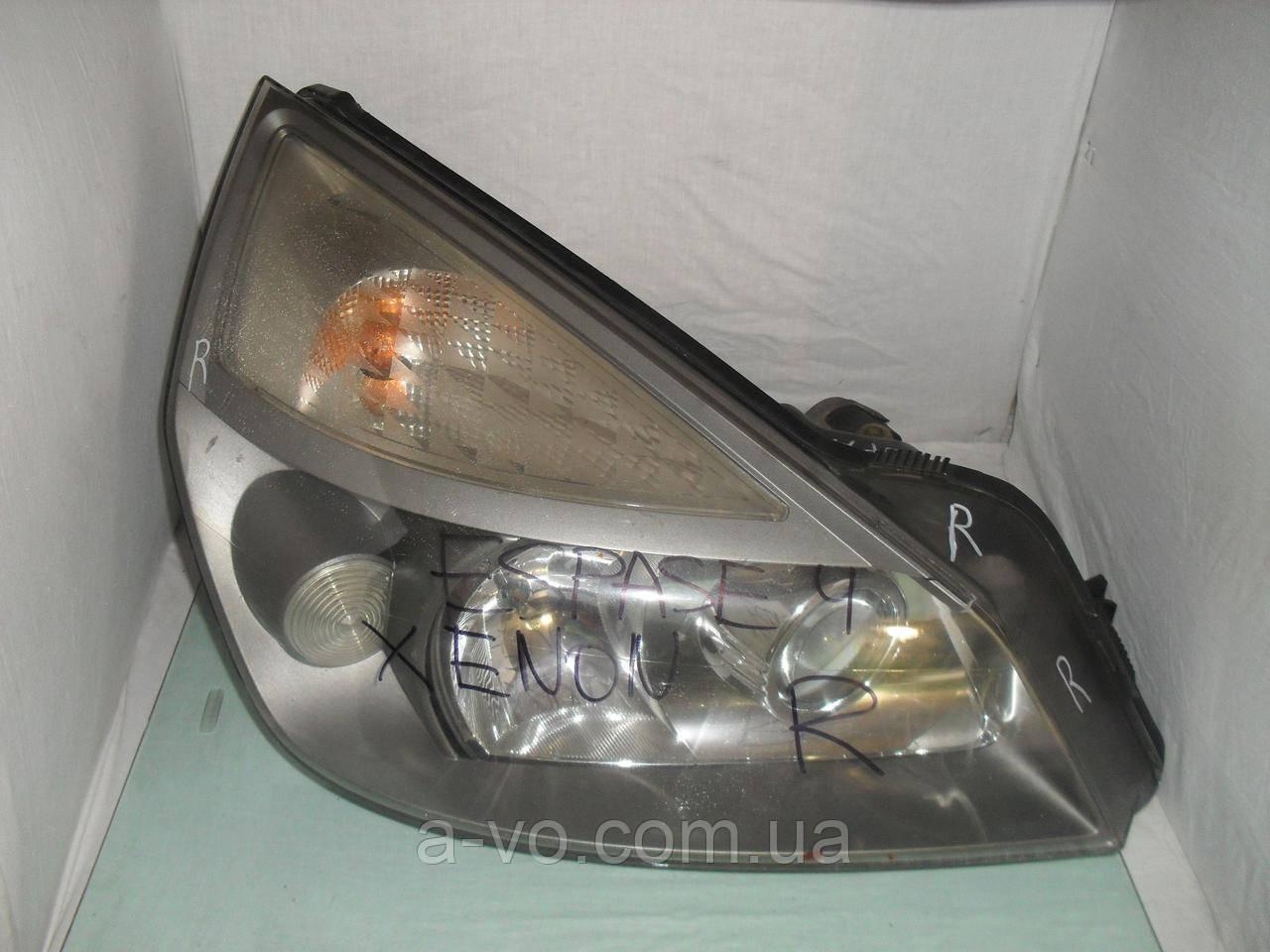 Фара XENON основная правая для Renault Espace 4, Hella 15566000RE