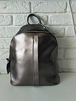 "Женский кожаный рюкзак ""Салли Silver"", фото 1"