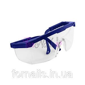 Защитные очки для мастера, синие