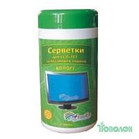 Салфетки для офисного оборудования 30661 LCD TFT в туб.100шт.