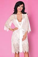 Сексуальный Халат Narele LC Livia Corsetti Fashion белый S/M L/XL