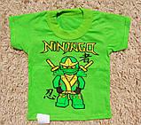 Дитяча футболка на хлопчика Ниндзяго, фото 2