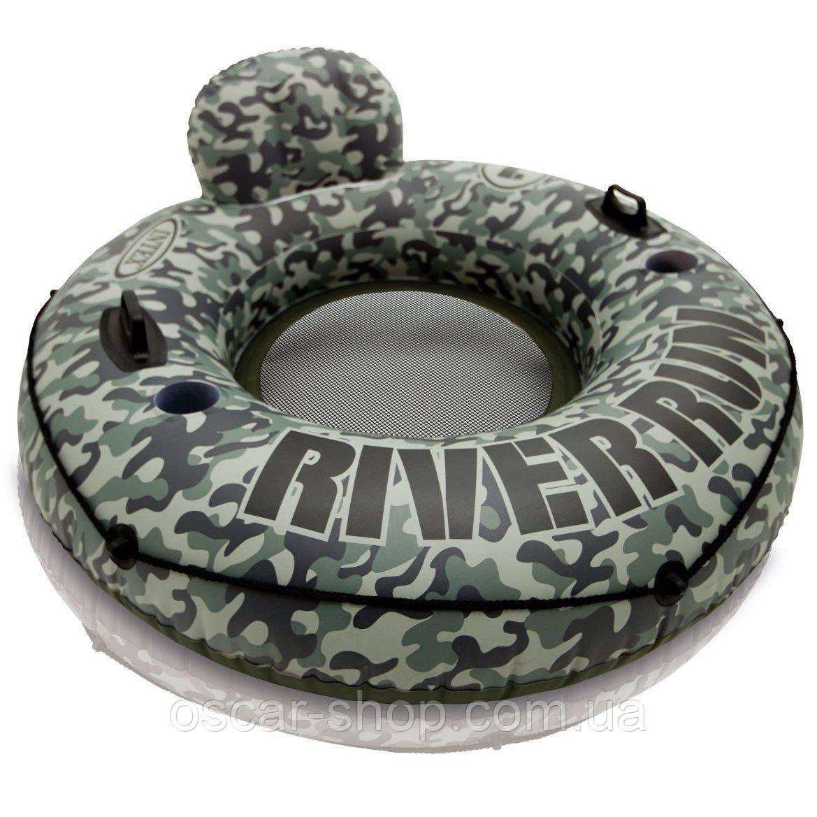 Кресло-круг надувное для плавания / Надувной плавательный круг / Надувной круг для бассейна